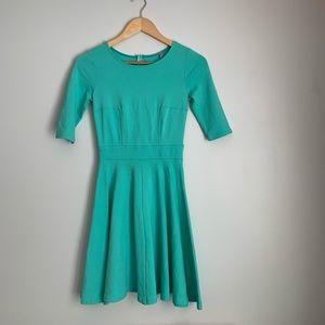 Tiffany blue skater dress